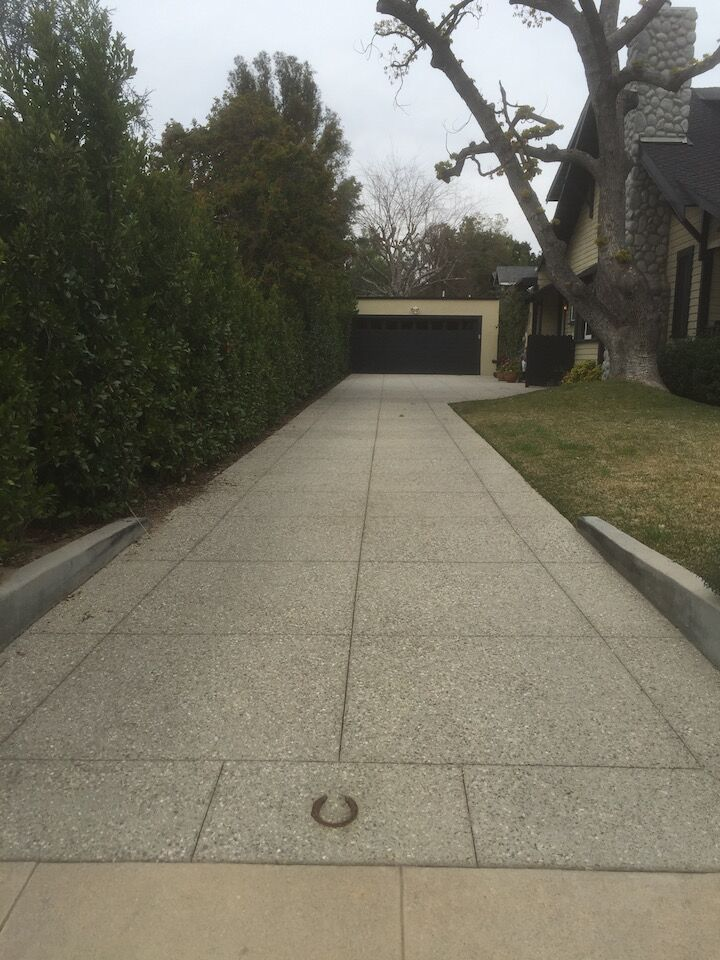 Driveways, Slabs, & Aprons – Pasadena Concreteworks, Inc
